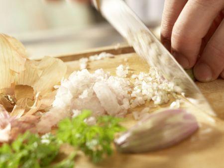 Gebratene Austernpilze: Zubereitungsschritt 2