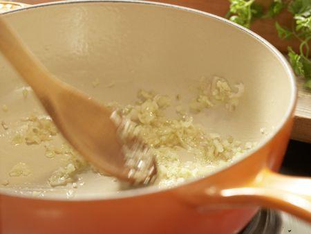Gebratene Austernpilze: Zubereitungsschritt 3