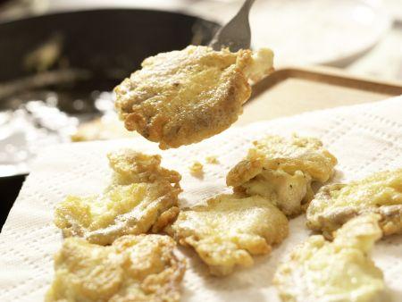Gebratene Austernpilze: Zubereitungsschritt 9