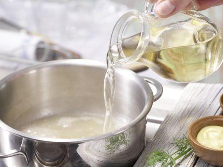 Gebratene Lachsfilets: Zubereitungsschritt 3