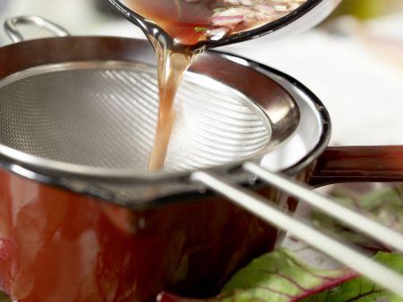 Gebratene Makrelenfilets: Zubereitungsschritt 3