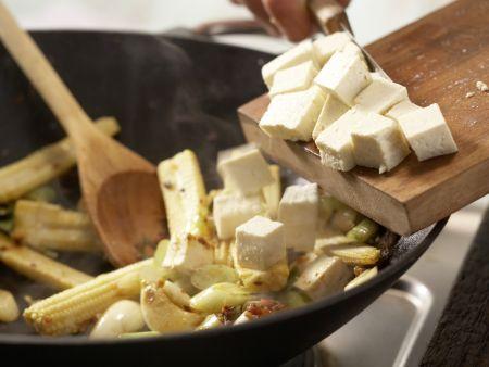 Gebratene Nudeln: Zubereitungsschritt 6