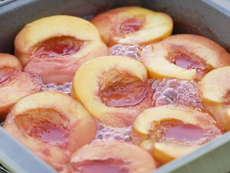 Rezept: Gebratene Pfirsiche