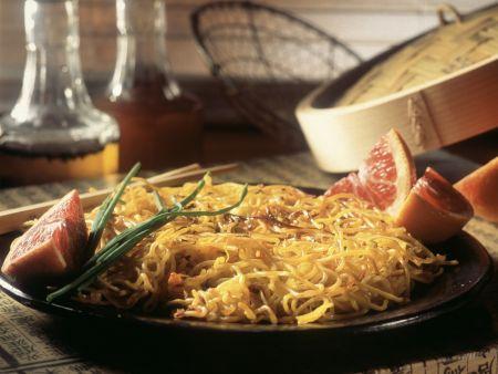 Rezept: Gebratene Spaghetti