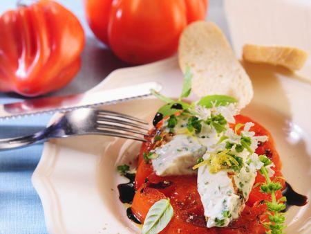 Gebratene Tomatenscheiben