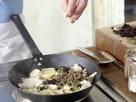 Gebratener Blumenkohl: Zubereitungsschritt 5