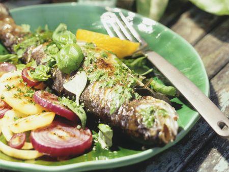 Gebratener Kräuter-Fisch