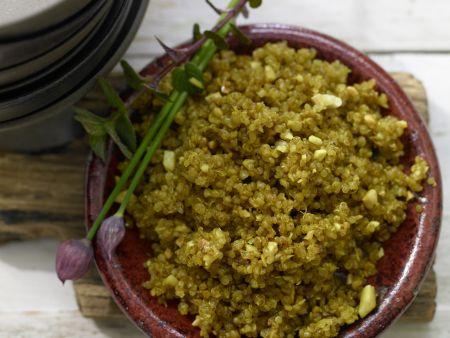 Gebratener Quinoa