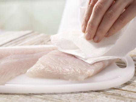 Gebratener Seelachs: Zubereitungsschritt 5