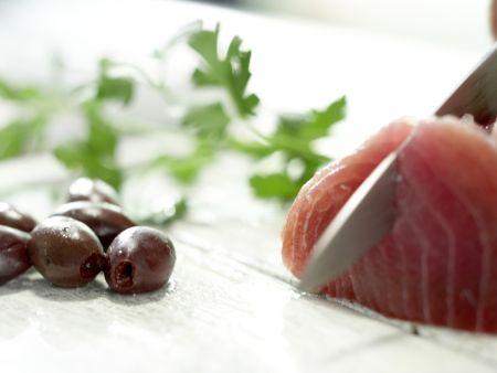 Gebratener Thunfisch: Zubereitungsschritt 3