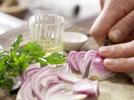 Gebratenes Sauerkraut: Zubereitungsschritt 2