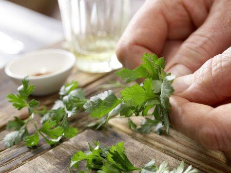 Gebratenes Sauerkraut: Zubereitungsschritt 7