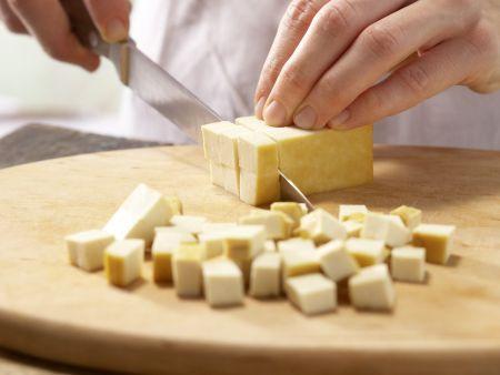 Gebratenes Tofu-Pilz-Gemüse: Zubereitungsschritt 6