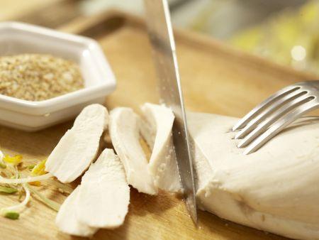 Gedämpfte Hähnchenbrust: Zubereitungsschritt 11