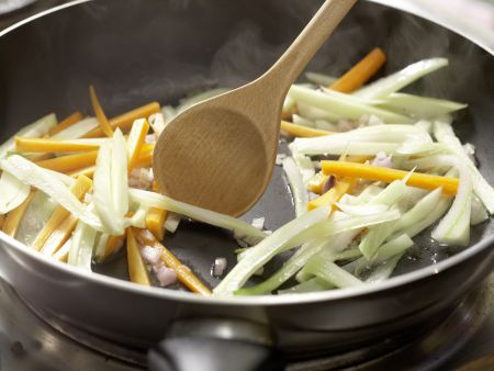 Gedünstetes Fischfilet: Zubereitungsschritt 3