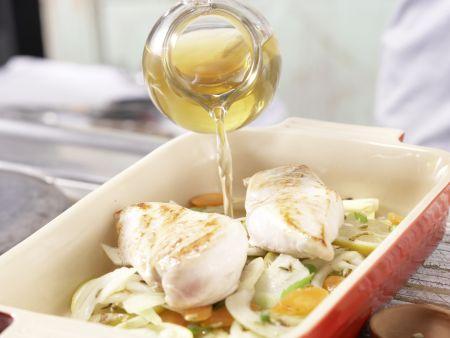 Gedünstetes Hähnchenbrustfilet: Zubereitungsschritt 6