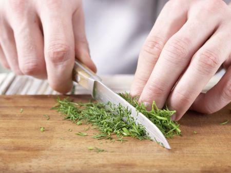 Gedünstetes Hähnchenbrustfilet: Zubereitungsschritt 7
