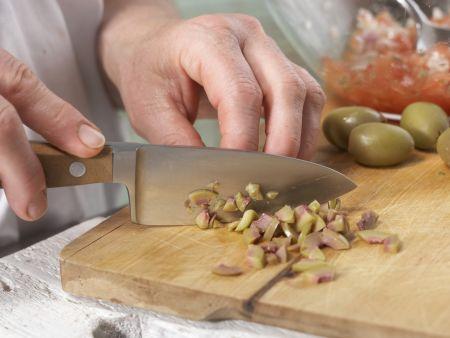 Gefüllte Artischockenböden: Zubereitungsschritt 4