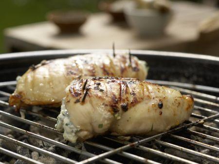 Gefüllte Hähnchenbrust: Zubereitungsschritt 10