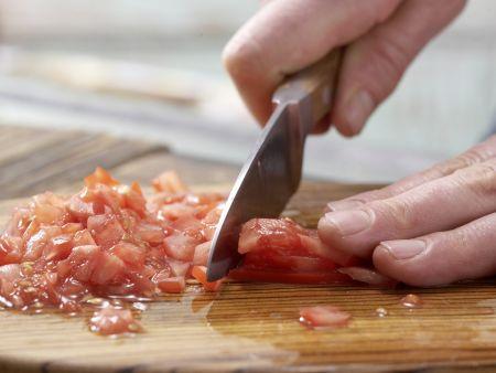 Gefüllte Lachsforelle: Zubereitungsschritt 4