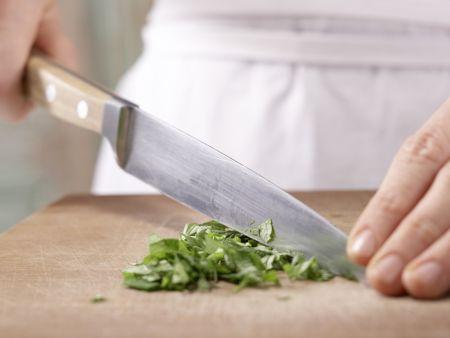 Gefüllte Melone: Zubereitungsschritt 3