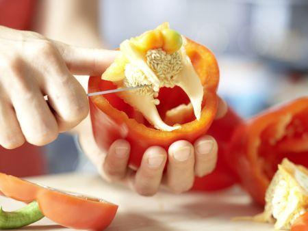Gefüllte Paprikaschoten – smarter: Zubereitungsschritt 3