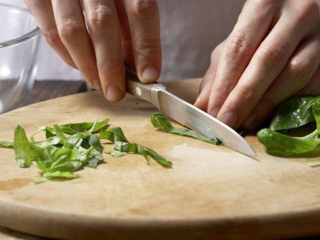 Gefüllte Ricotta-Tomaten: Zubereitungsschritt 2