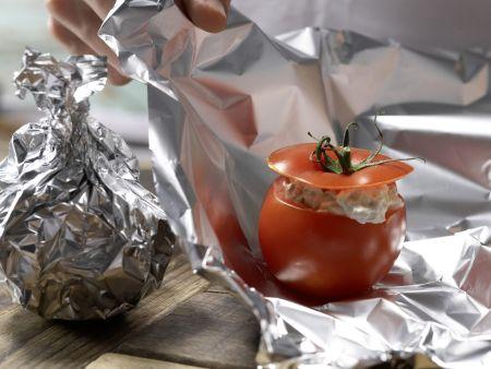 Gefüllte Ricotta-Tomaten: Zubereitungsschritt 6