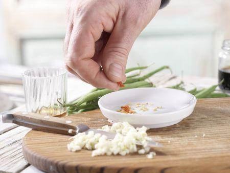 Gefüllte Salatblätter: Zubereitungsschritt 1