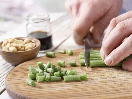 Gefüllte Salatblätter: Zubereitungsschritt 2