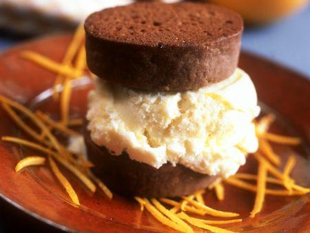 Gefüllte Schoko-Shortcakes