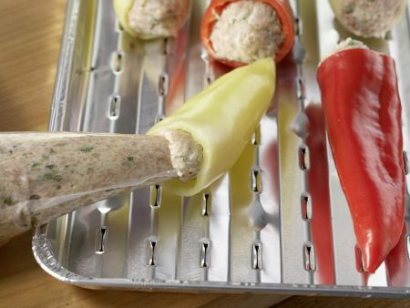 Gefüllte Spitzpaprika: Zubereitungsschritt 6