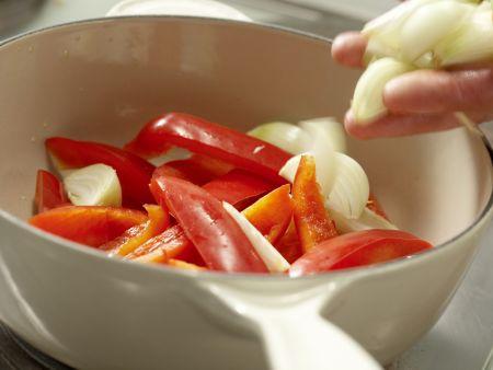 Gefüllte Tortillafladen: Zubereitungsschritt 5
