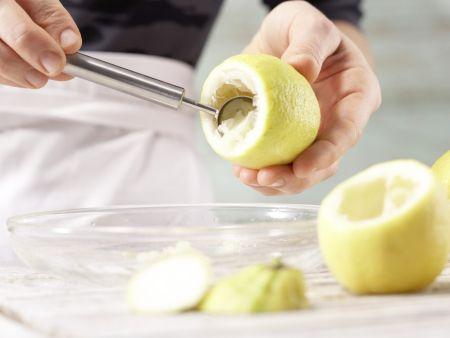 Gefüllte Zitronen: Zubereitungsschritt 4