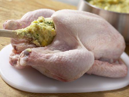 Gefülltes Polenta-Hähnchen: Zubereitungsschritt 6