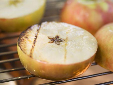 Gegrillte Äpfel