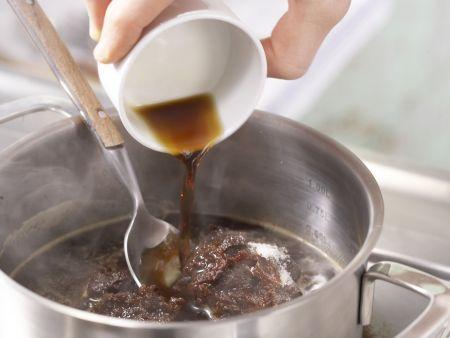 Gegrillte Auberginen: Zubereitungsschritt 2