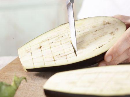 Gegrillte Auberginen: Zubereitungsschritt 3