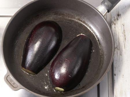 Gegrillte Auberginen: Zubereitungsschritt 4