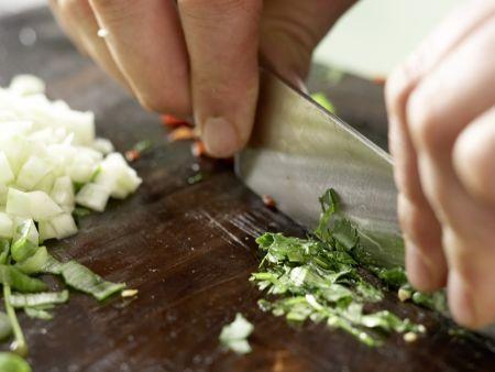 Gegrillte Lachsspieße: Zubereitungsschritt 6