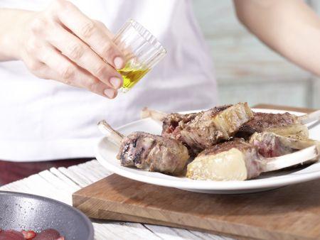 Gegrillte Lammkoteletts: Zubereitungsschritt 6