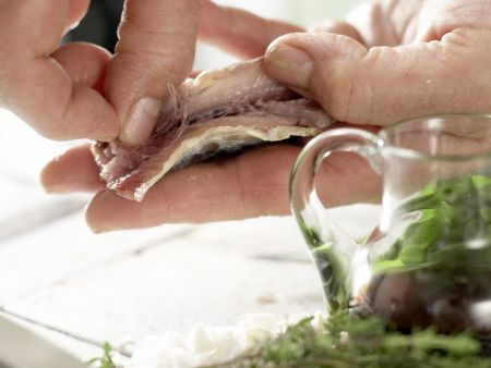 Gegrillte Sardinen: Zubereitungsschritt 4
