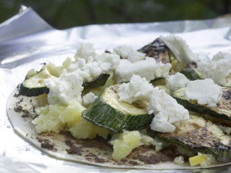 Gegrillte Tortillas: Zubereitungsschritt 9