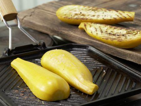Gegrillte Zucchini: Zubereitungsschritt 2