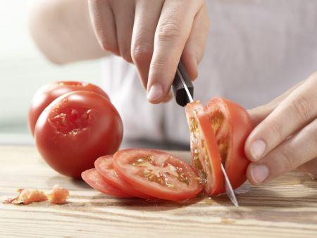 Gegrillte Zucchini: Zubereitungsschritt 3