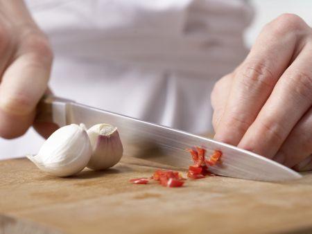 Gegrillter Curry-Seelachs: Zubereitungsschritt 1