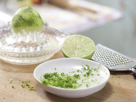 Gegrillter Curry-Seelachs: Zubereitungsschritt 2