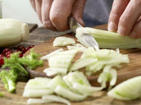 Gegrillter Lachs mit Fenchel: Zubereitungsschritt 1