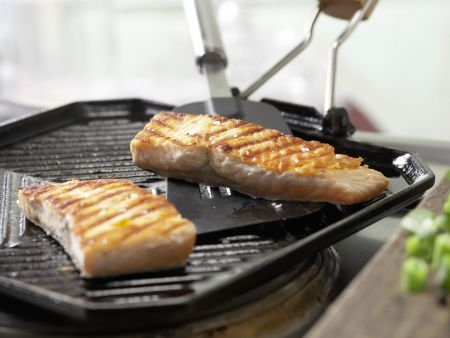 Gegrillter Lachs mit Fenchel: Zubereitungsschritt 6
