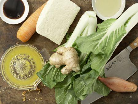 Gegrillter marinierter Tofu: Zubereitungsschritt 1
